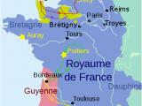 Poitiers Map France Les Debuts De La Guerre De Cent Ans Ccm Beta History