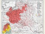 Poland On Europe Map A 1921 Map Of Polish Majority areas In Europe after the End