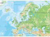 Political and Physical Map Of Europe Map Of Europe Europe Map Huge Repository Of European