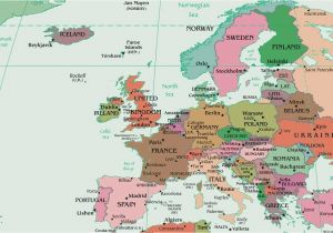 Political Map Of Europe and Russia Map Of Europe Europe Map Huge Repository Of European
