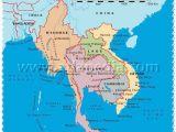 Political Map Of Ohio Political Map Of Myanmar Thailand Laos Cambodia Vietnam