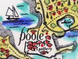 Pool England Map Perfect Poole Pottery Plate Hand Painted Map Of Poole