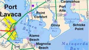 Port O Connor Texas Map Map Of Port Lavaca Texas Business Ideas 2013