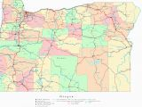 Portland oregon County Map Large Printable Map Of the United States with Cities Download them