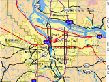 Portland oregon County Map Portland oregon or Profile Population Maps Real Estate