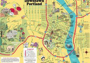 Portland oregon Light Rail Map Portland Bridges Map Map Of Portland Bridges oregon Usa