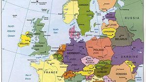 Portugal In Europe Map Map Of Europe Maps Kontinente Europe Reisen Und Europa