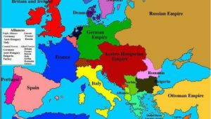Pre War Map Of Europe World War One Map Fresh Map Of Europe In 1914 before the