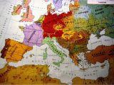 Pre Ww1 Map Of Europe European Ethnic Map 1914 Map Europe Maps European Map