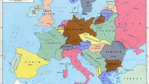 Pre Ww2 Europe Map Pre World War Ii Here are the Boundaries as A Result Of