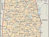 Printable Map Of Alabama Map Of Alabama County Boundaries and County Seats Genealogy