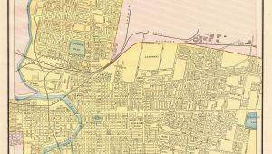 Printable Map Of Columbus Ohio 1892 Antique Columbus Ohio Map Vintage City Map Print Gallery Wall