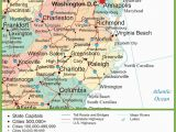 Printable Map Of north Carolina Map Of Virginia and north Carolina