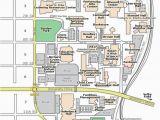 Printable Minnesota Map Campus Map St Cloud State University
