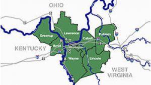 Proctorville Ohio Map Huntington ashland Metropolitan area Wikivividly
