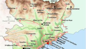 Provance France Map southern France Map France France Map France Travel