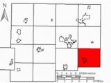 Putnam County Ohio Map Riley township Putnam County Ohio Wikivisually