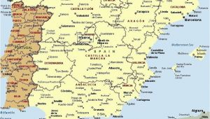 Pyrenees Spain Map Mapa Espaa A Fera Alog In 2019 Map Of Spain Map Spain Travel