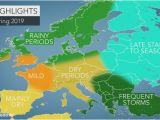Radar Weather Map Europe Accuweather 2019 Europe Spring forecast Accuweather