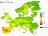 Radon Map Ireland Radon Map Europe Casami