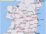 Rail Travel In Ireland Map Map Of Ireland Road Network Download them and Print