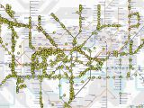 Railroad Map Colorado Tube Map that Shows London Underground Trains Moving In Real Time