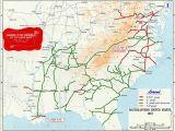 Railroad Map north Carolina Confederate Railroads In the American Civil War Wikipedia