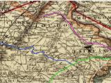 Railroad Map north Carolina Railroads Of Virginia