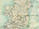 Railway Ireland Map the Sunny Side Of Ireland John O Mahony and R Lloyd Praeger