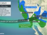 Rainfall Map Of Texas California to Face More Flooding Rain Burying Mountain Snow Into Monday
