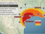 Rainfall Map Of Texas torrential Rain to Evolve Into Flooding Disaster as Major Hurricane