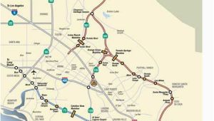 Rancho Santa Margarita California Map Map Rates the toll Roads