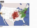 Recent Earthquake Map California East Vs West Coast Earthquakes