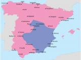 Regions In Spain Map Spanish Civil War Wikipedia