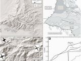Relief Map Of Arizona Examples Of Extensionparallel and Extension Perpendicular Drainages