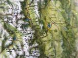 Relief Map Of Arizona Vintage Kistler Graphics 3d Map Of Colorado Educational Decor