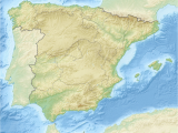 Relief Map Of Spain Liste Des Mammifa Res En Espagne Wikipedia