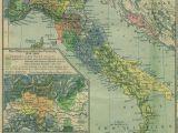 Renaissance Italy Map 1494 1494