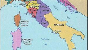 Renaissance Map Of Italy Italy 1300s Historical Stuff Italy Map Italy History Renaissance