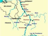 Rhine River Map Europe Rhine River the Rhine River is the Longest and Most