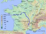 Rhone River France Map Loire Wikipedia