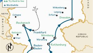 Rick Steves Map Of Europe Germany Itinerary where to Go In Germany by Rick Steves