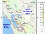 Ridgecrest California Map California Map Fault Lines Hayward Fault Zone Travel Maps and