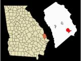 Rincon Georgia Map Ebenezer Creek Revolvy