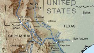 Rio Grande Valley Texas Map Pecos and Rio Grand River Systems Dr Prepper A Pecos River