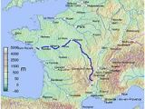 Rivers Of France Map Loire Wikipedia