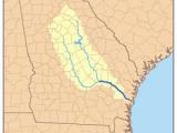 Rivers Of Georgia Map Oconee River Revolvy