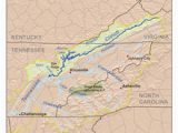 Rivers Of Tennessee Map Clinch River Wikipedia