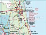 Road Map Of Alabama and Florida northeast Florida Road Map Showing Main towns Cities and Highways