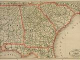 Road Map Of Alabama and Georgia New Rail Road and County Map Of Alabama Georgia south Carolina for